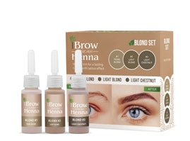 BH BROW HENNA SET Blond 3 colors