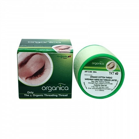 Eyebrow threading Thread Organica 40 cotton