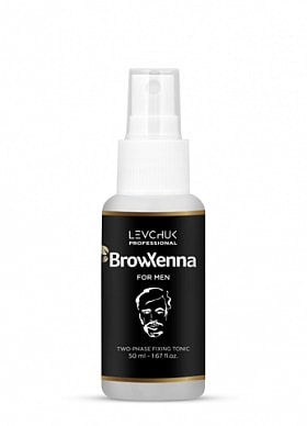 BROWXENNA® TWO-PHASE TONIC FOR HENNA WASHING OFF FOR MEN