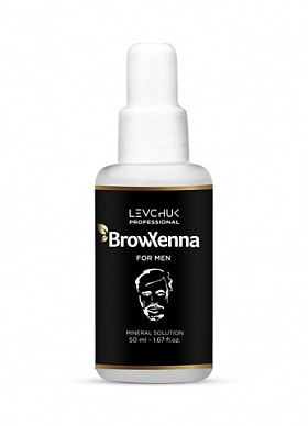 BROWXENNA® MINERAL SOLUTION FOR HENNA MIXING FOR MEN