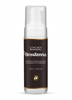 BROWXENNA® SHAMPOO-FOAM FOR DEEP CLEANSING OF EYEBROWS