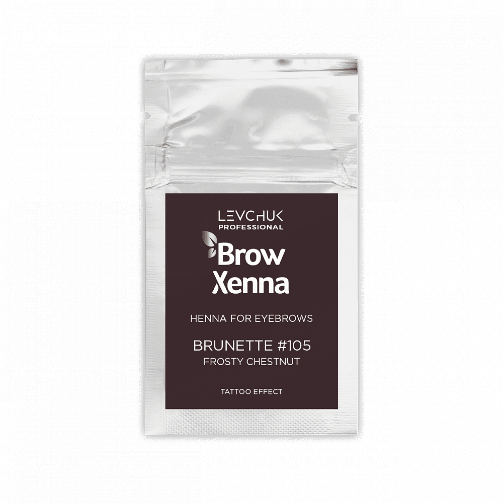 Henna for eyebrows (sachet-refill), BrowXenna®