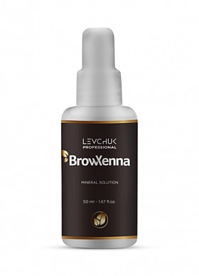 BROWXENNA® MINERAL SOLUTION FOR HENNA MIXING